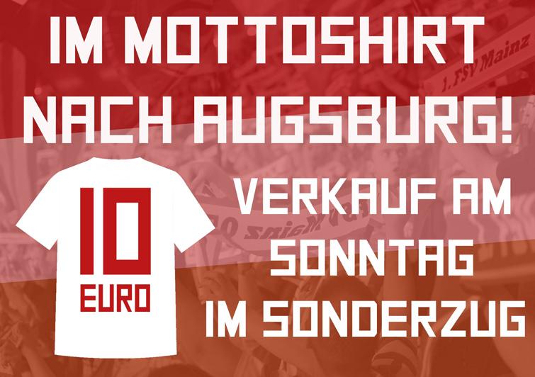Augsburg Mottoshirt